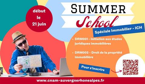 Summer school spéciale Immobilier 21 juin